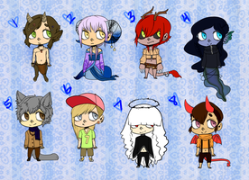 Wiccadopts Set 2 -OPEN- by DeerestHammy