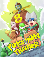 Pokemon trainer 8 cover by MasterPloxy