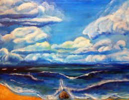 Clouds and Sea by Danas79