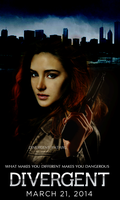 Divergent Movie Poster by I-sHiPLLaNd-SpObY