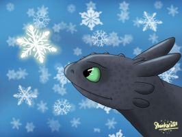 Snowfall before Christmas by shankar2811