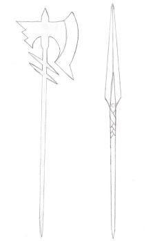Weapon 2: Long-handled weapon by Genemesis