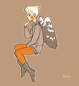 Cockatiel Girl by Paigeling