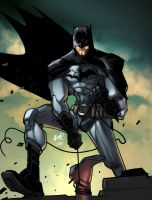 The Batman lafuente by toonfed