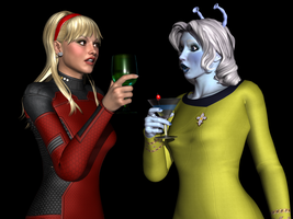 Captains and Cocktails - Heath and Venthen by Sailmaster-Seion