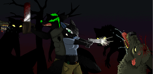 .:how i wouls spend halloween with deathy:. by Celtic-PREDATOR