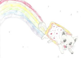 Nyan Cat! by Nomolos-gnaw