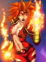 Fire Brandi COLOR by vest