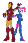 Iron Man and Party Planner by edCOM02