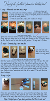 Needle felting tutorial - panda [english] by varjules