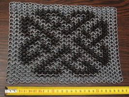 Celtic knot chainmail by yukosteel