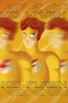 Back in a (Kid) Flash by FabulousBendingBros