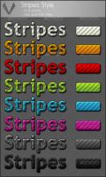 Stripes style in 8 colors by Vonikx