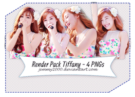 [Render Pack] Tiffany SNSD in BOWP  - 4 PNGs by jemmy2000