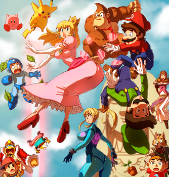 Super Smash Brothers - Ha-tcha by oNichaN-xD