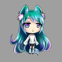 Chroma Chibi Icon Blink 2 by TakkuNoTori