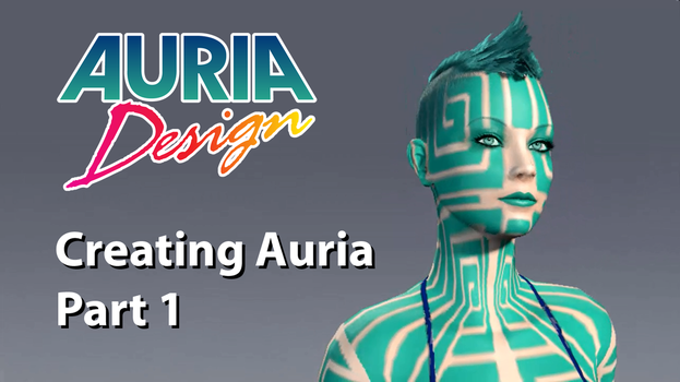Creating Auria in APB Reloaded by alexsanlyra