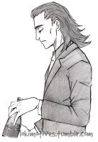 Loki and those fine fingers - UNF! by Lokimotives