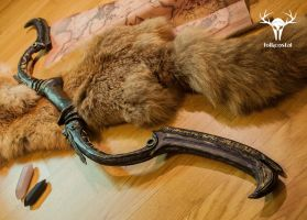 Skyrim Dwarven Black Bow of Fate by Folkenstal