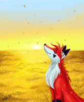 In Those Golden Fields by Yuleira