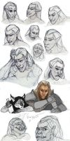 Faces sketch by REYKAT
