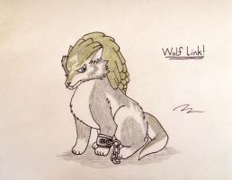 Wolf Link by pheonix548