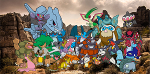All The Earthen Warriors! by powerfulI