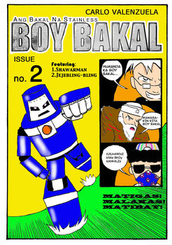Boy Bakal issue 2 cover by Olracdude