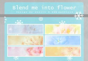 blend me into flowers by wonjin