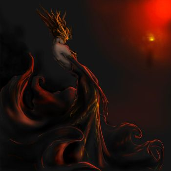 Pheonix 'previously red queen' by redwin12