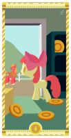 Four of Coins by janeesper