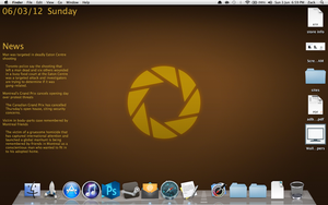 Aperture Screen with GeekTool by TXTCLA55