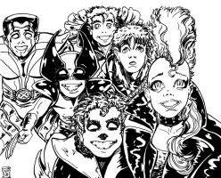 X-Babies of the 80'S by KwongBee-Arts