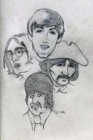 The Beatles by JasonShoemaker