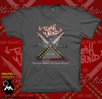 Flesh Wound Tee By MA by motion-attack