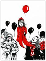 The Red Balloon: Teenage Years by xXxKerstenxXx