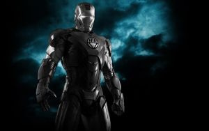 Iron Man Black Lantern Armor by 666Darks