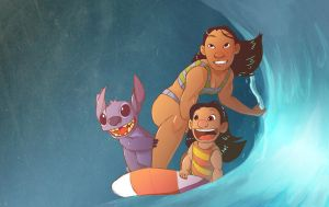 Hawaiian Roller Coaster Ride by Toxandreev