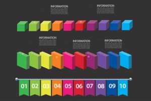 Universal information graphic elements by Lemongraphic