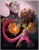 Super Skrull JoGee Collabo by D-Gee