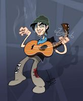 Mike 'Pedals' by dodgyrommer
