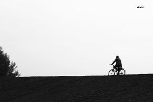 Bicyclist by s-ascic