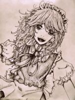 The Inked Time-Keeper by chakupuchi