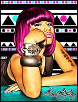 Vector I Done Of Nicki Minaj by MsDaijahStylez