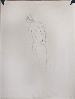 Figure Drawing Model 3 (Drawn in 5 Seconds) by MattRasley