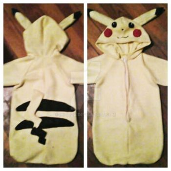 Pikachu Baby Bunting Outfit by Ikitada