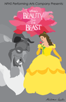 Beauty and the Beast Play Poster WIP by autumnaki2