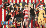 One piece Circus by multieleonora96