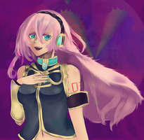 Vocaloid Art Jam: Luka Megurin by nosheep13
