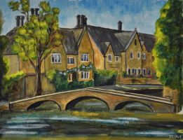 Cotswold: Bourton-on-the-Water by ErynLuin